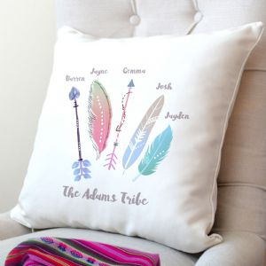 Personalised Family Tribe Cushion